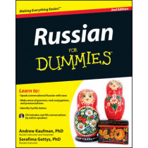 Russian For Dummies by Andrew Kaufman, 9781118127698