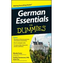 German Essentials For Dummies by Wendy Foster, 9781118184226