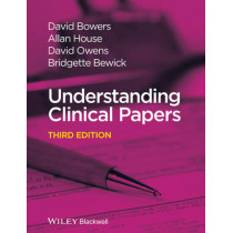 Understanding Clinical Papers by David Bowers, 9781118232828