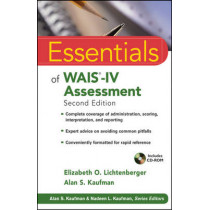 Essentials of  WAIS-IV Assessment by Elizabeth O. Lichtenberger, 9781118271889