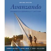 Avanzando: Gramatica espanola y lectura by Carmen Salazar, 9781118280232