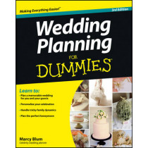 Wedding Planning For Dummies by Marcy Blum, 9781118360354