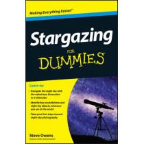 Stargazing For Dummies by Steve Owens, 9781118411568