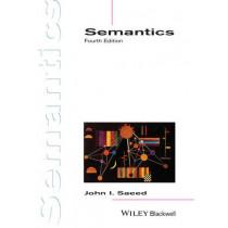 Semantics by John I. Saeed, 9781118430163