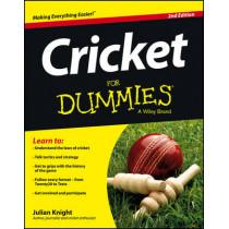 Cricket For Dummies by Julian Knight, 9781118480328