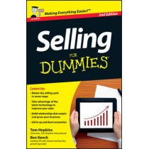 Selling For Dummies by Ben Kench, 9781118489437