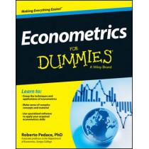 Econometrics For Dummies by Roberto Pedace, 9781118533840