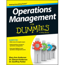 Operations Management For Dummies by Mary Ann Anderson, 9781118551066
