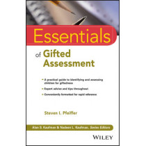 Essentials of Gifted Assessment by Steven I. Pfeiffer, 9781118589205