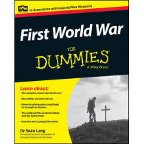 First World War For Dummies by Sean Lang, 9781118679999
