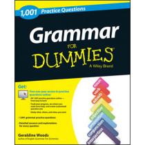 Grammar For Dummies: 1,001 Practice Questions (+ Free Online Practice) by Geraldine Woods, 9781118745014