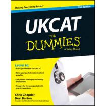 UKCAT For Dummies by Chris Chopdar, 9781118770504