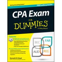 CPA Exam For Dummies by Kenneth W. Boyd, 9781118813737
