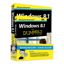 Windows 8.1 for Dummies Book+dvd Bundle by Andy Rathbone, 9781118821077