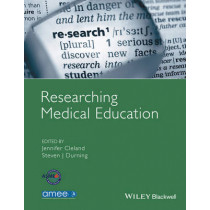 Researching Medical Education by Jennifer Cleland, 9781118839201