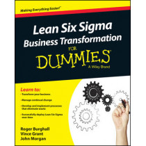 Lean Six Sigma Business Transformation For Dummies by Roger Burghall, 9781118844861