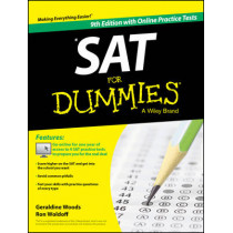 SAT For Dummies, with Online Practice by Geraldine Woods, 9781118911495