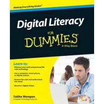 Digital Literacy For Dummies by Faithe Wempen, 9781118962862