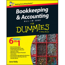 Bookkeeping and Accounting All-in-One For Dummies - UK by Jane E. Kelly, 9781119026532
