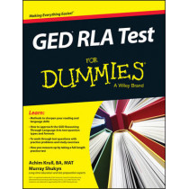 GED RLA For Dummies by Achim K. Krull, 9781119030058