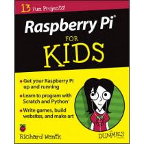 Raspberry Pi For Kids For Dummies by Richard Wentk, 9781119049517