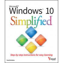 Windows 10 Simplified by Paul McFedries, 9781119057154