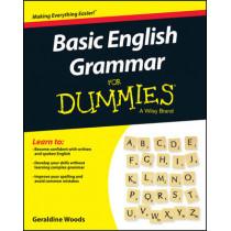 Basic English Grammar For Dummies - US by Geraldine Woods, 9781119063476