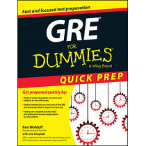 GRE For Dummies Quick Prep by Ron Woldoff, 9781119068648