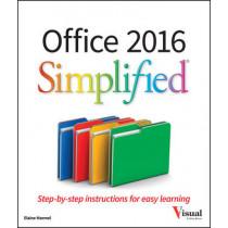 Office 2016 Simplified by Elaine Marmel, 9781119074748