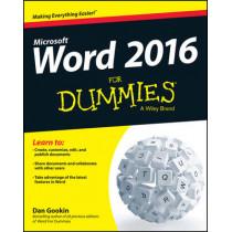 Word 2016 For Dummies by Dan Gookin, 9781119076896