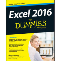 Excel 2016 For Dummies by Greg Harvey, 9781119077015