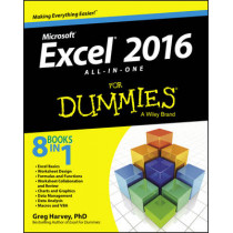 Excel 2016 All-in-One For Dummies by Greg Harvey, 9781119077152