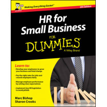 HR for Small Business For Dummies - UK by Marc Bishop, 9781119111320