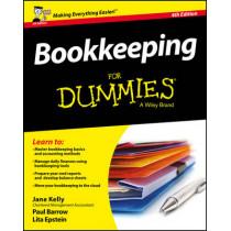 Bookkeeping For Dummies by Jane E. Kelly, 9781119189138