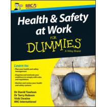 Health and Safety at Work For Dummies by RRC, 9781119210931