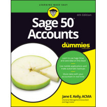 Sage 50 Accounts For Dummies by Jane E. Kelly, 9781119214151
