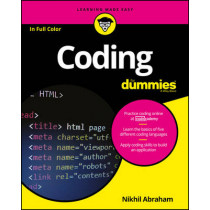 Coding For Dummies by Nikhil Abraham, 9781119293323