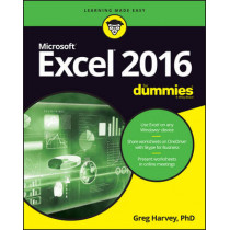 Excel 2016 For Dummies by Greg Harvey, 9781119293439