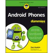 Android Phones For Dummies by Dan Gookin, 9781119310686