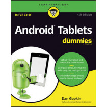 Android Tablets For Dummies by Dan Gookin, 9781119310730