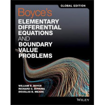 Boyce's Elementary Differential Equations and Boundary Value Problems by William E. Boyce, 9781119382874