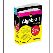 Algebra I Workbook For Dummies with Algebra I For Dummies 3e Bundle by Mary Jane Sterling, 9781119387084