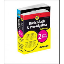 Basic Math and Pre-Algebra Workbook For Dummies & Basic Math and Pre-Algebra For Dummies Bundle by Mark Zegarelli, 9781119387107