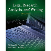 Legal Research, Analysis, and Writing by Jennifer Albright, 9781133591900