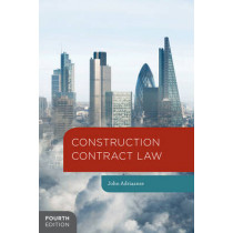 Construction Contract Law by John Adriaanse, 9781137009586