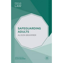 Safeguarding Adults by Alison Brammer, 9781137289957