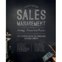 Sales Management: Strategy, Process and Practice by Bill Donaldson, 9781137355102