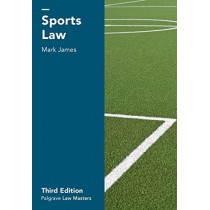 Sports Law by Mark James, 9781137559258