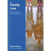 Family Law by Paula Davies, 9781137575517