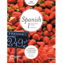 Foundations Spanish 1 by Cathy Holden, 9781137579201